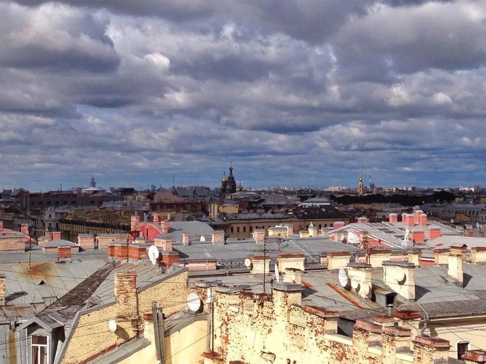 Крыши Петербурга | Блог Давай замедлимся