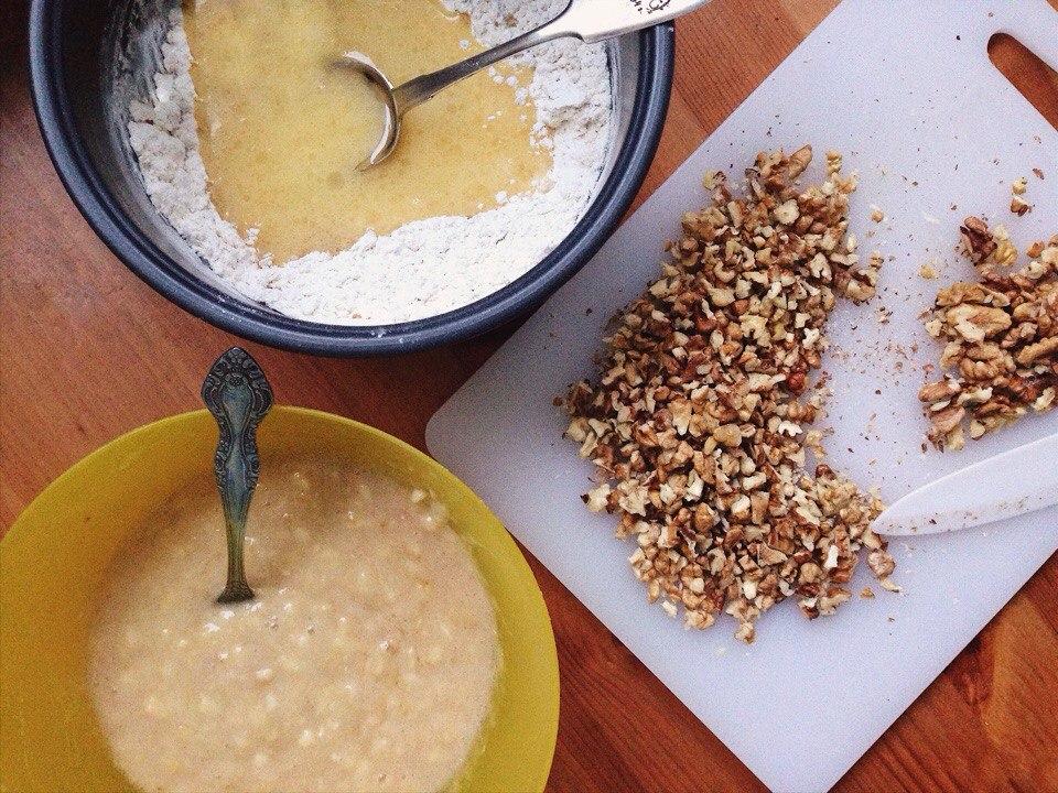 Банановый кекс рецепт| Блог Давай замедлимся