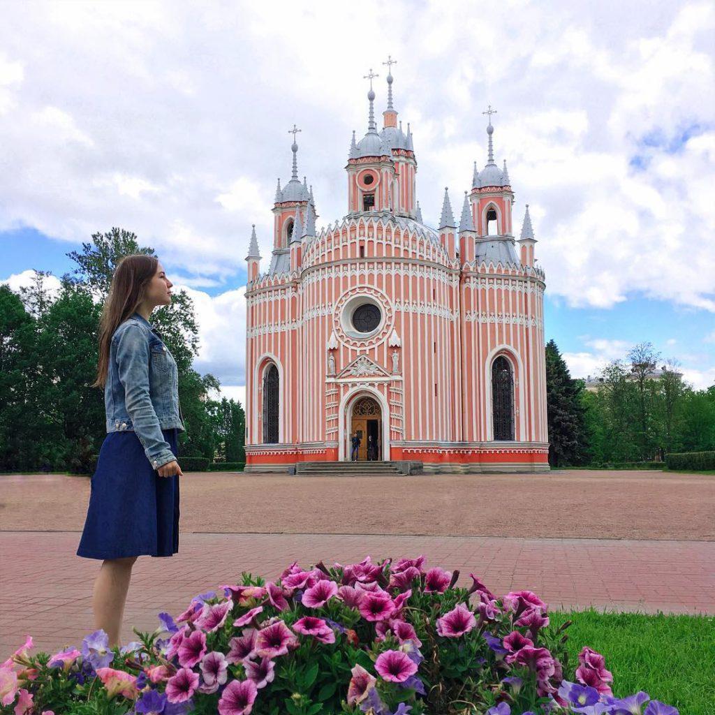 Чесменская церковь | Блог Давай замедлимся