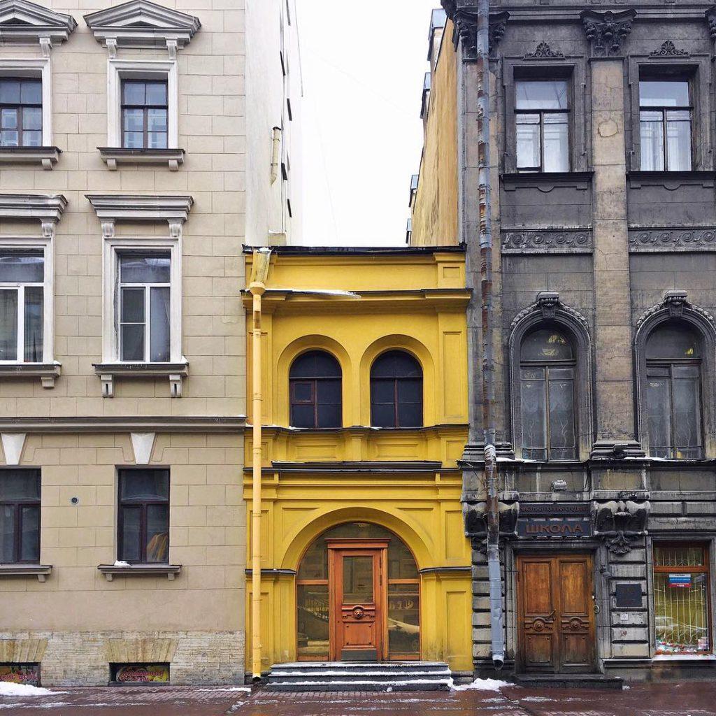 "Жёлтый дом на Гагаринской | Блог ""Давай замедлимся"""