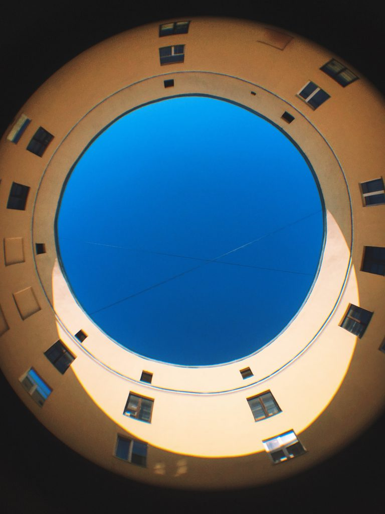 Дом-кольцо на Фонтанке