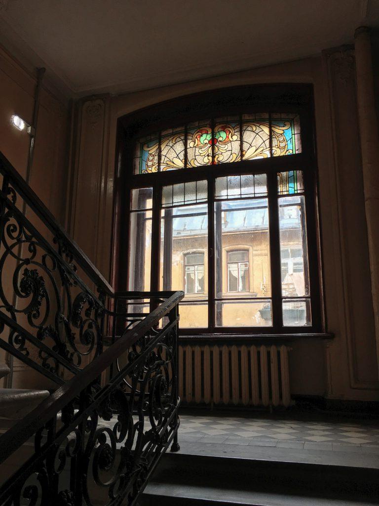 Старинные витражи Санкт-Петербурга