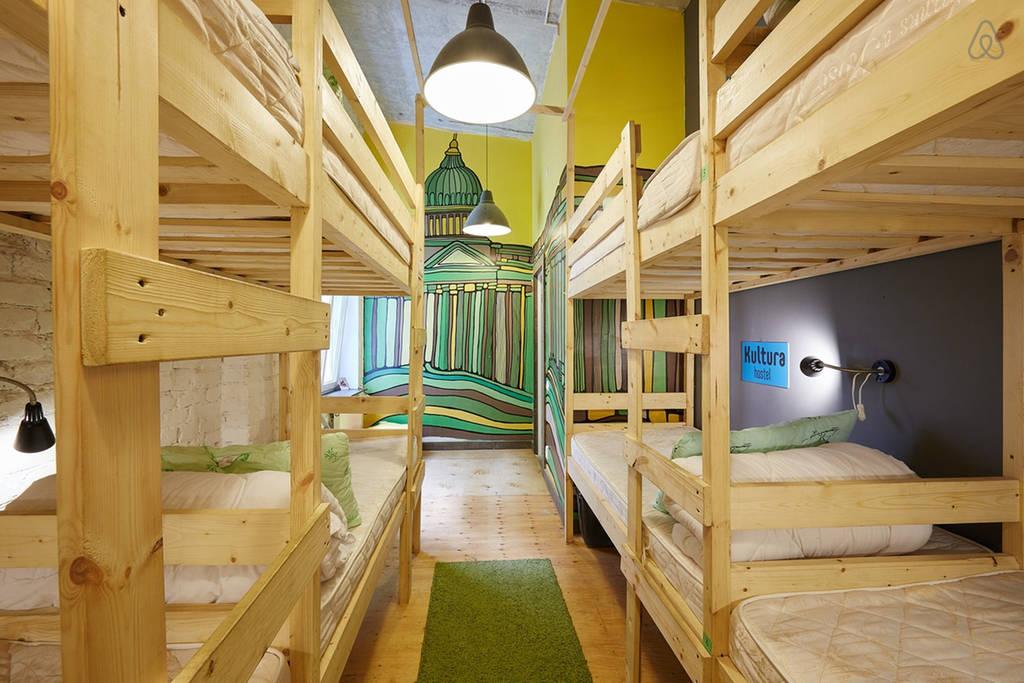 Арт-хостел Культура | 10 оригинальных и недорогих хостелов в Петербурге